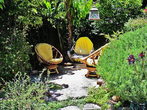 ジブリ的庭