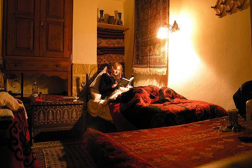 読書に合う間接照明