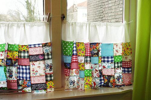 手作りカーテン