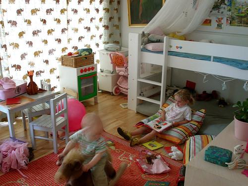 子ども部屋の柄使い