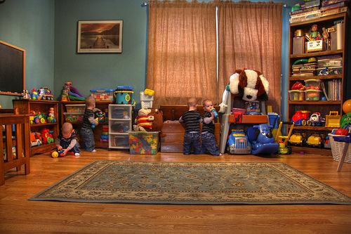 おもちゃの子ども部屋
