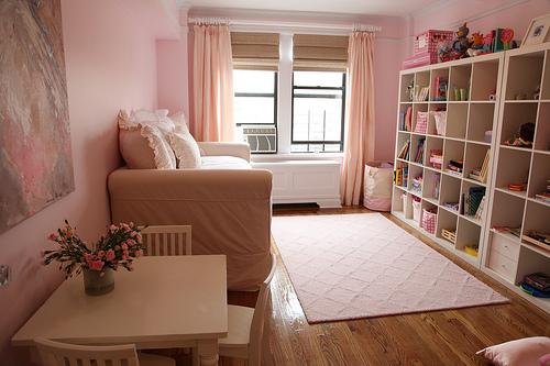 ピンクの部屋