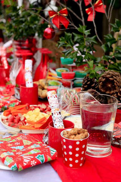 クリスマスの装飾